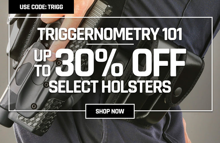 Save up to 30% on select holsters