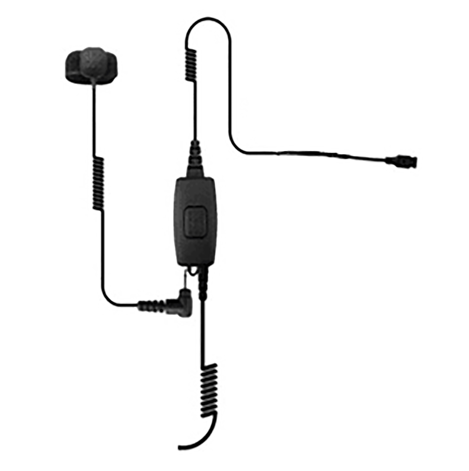 Ear Phone Connection Cobra Microphone