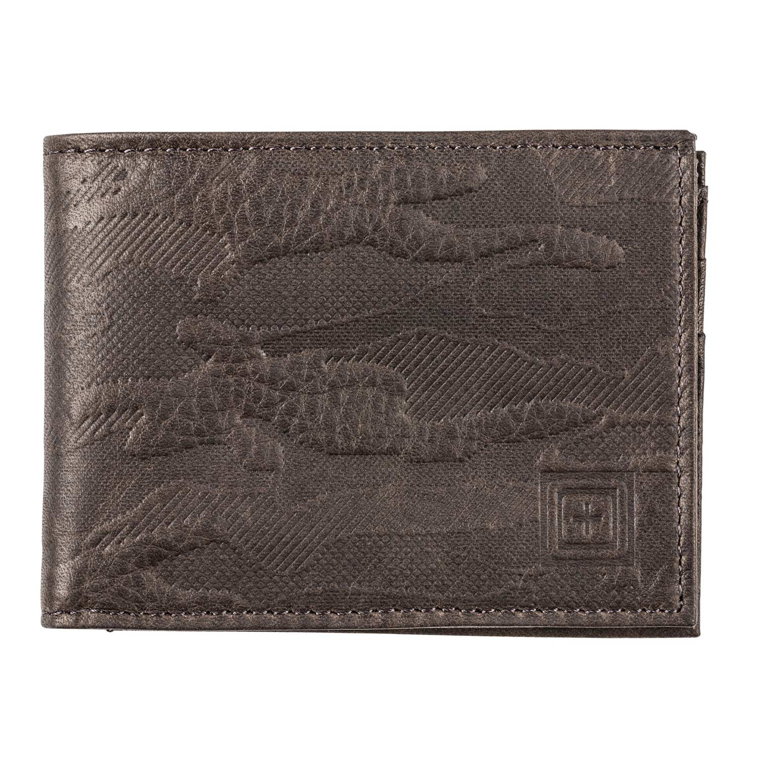5.11 Wheeler Leather Bifold Wallet with RFID Shield
