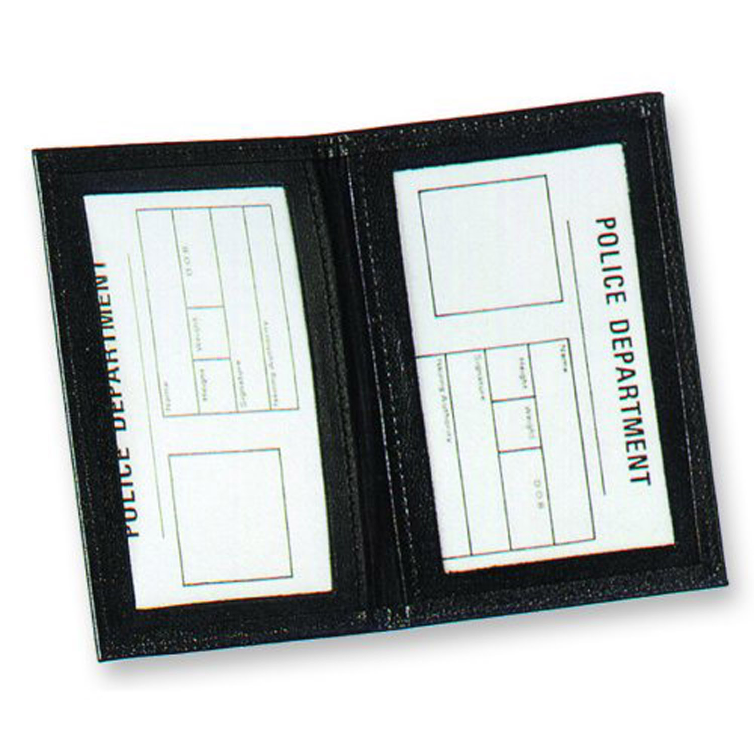 Strong Dress Side Open Double I.D. Case (Bound Windows)