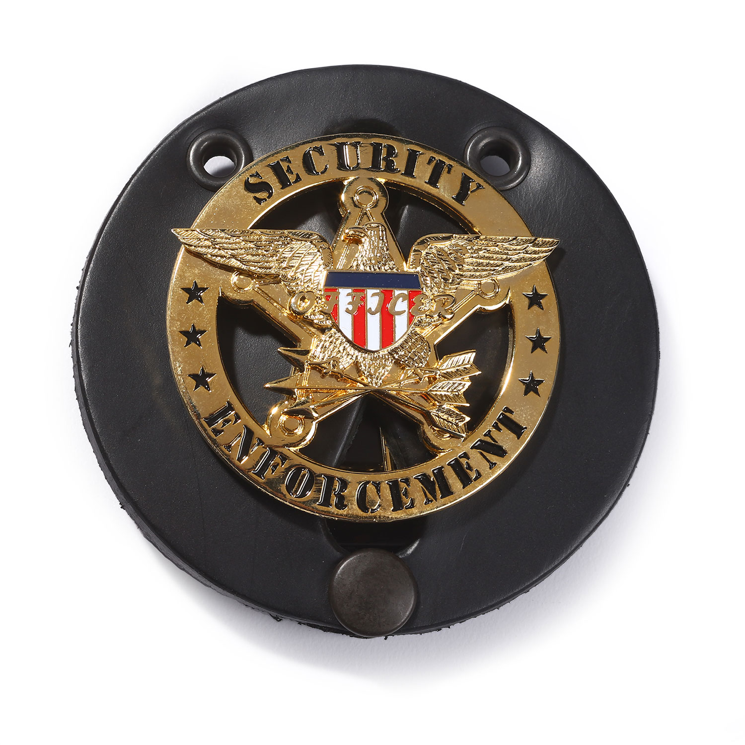 LawPro Leather Badge Holder