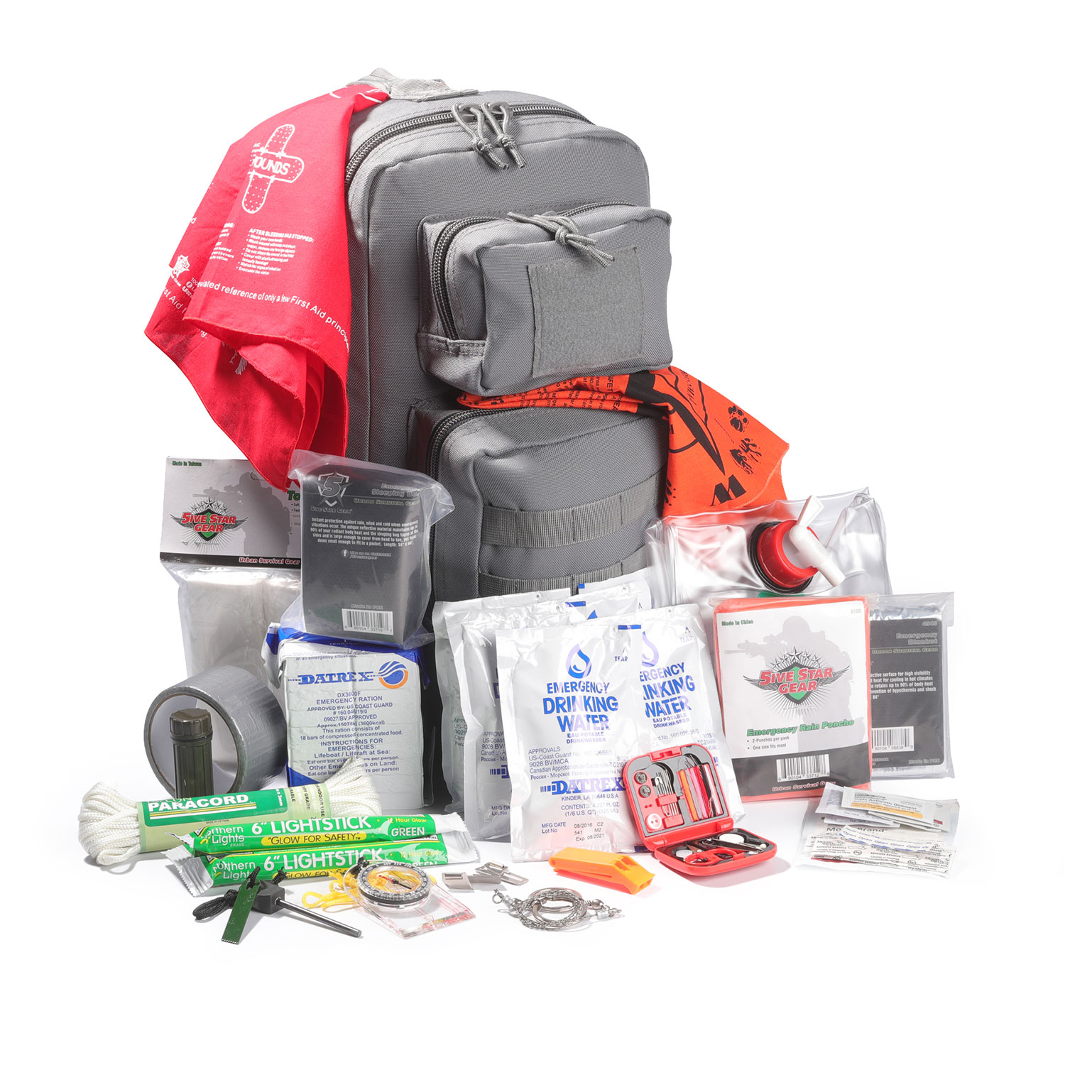 5ive Star Gear Bug-Out Bag Kit