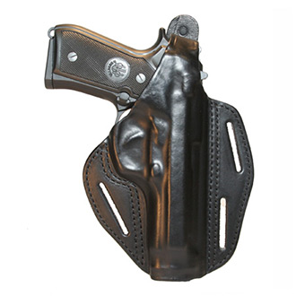 BLACKHAWK! 3 Slot Leather Pancake Holster