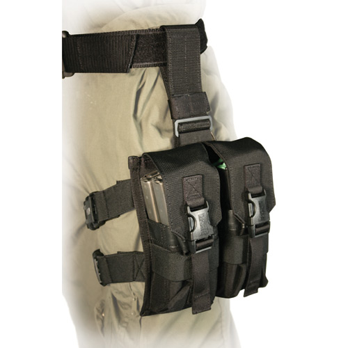 BLACKHAWK! Omega Enhanced M-16 Drop Leg Mag Pouch