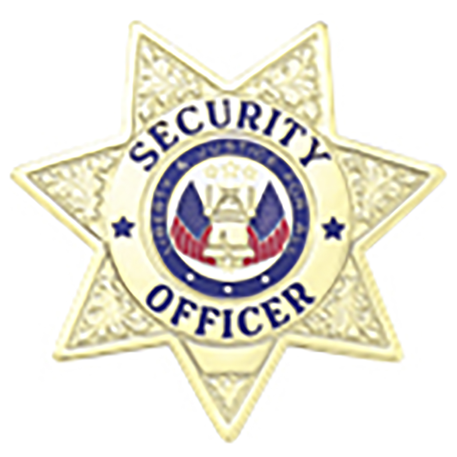 Blackinton Security Officer Seven Point Star Badge