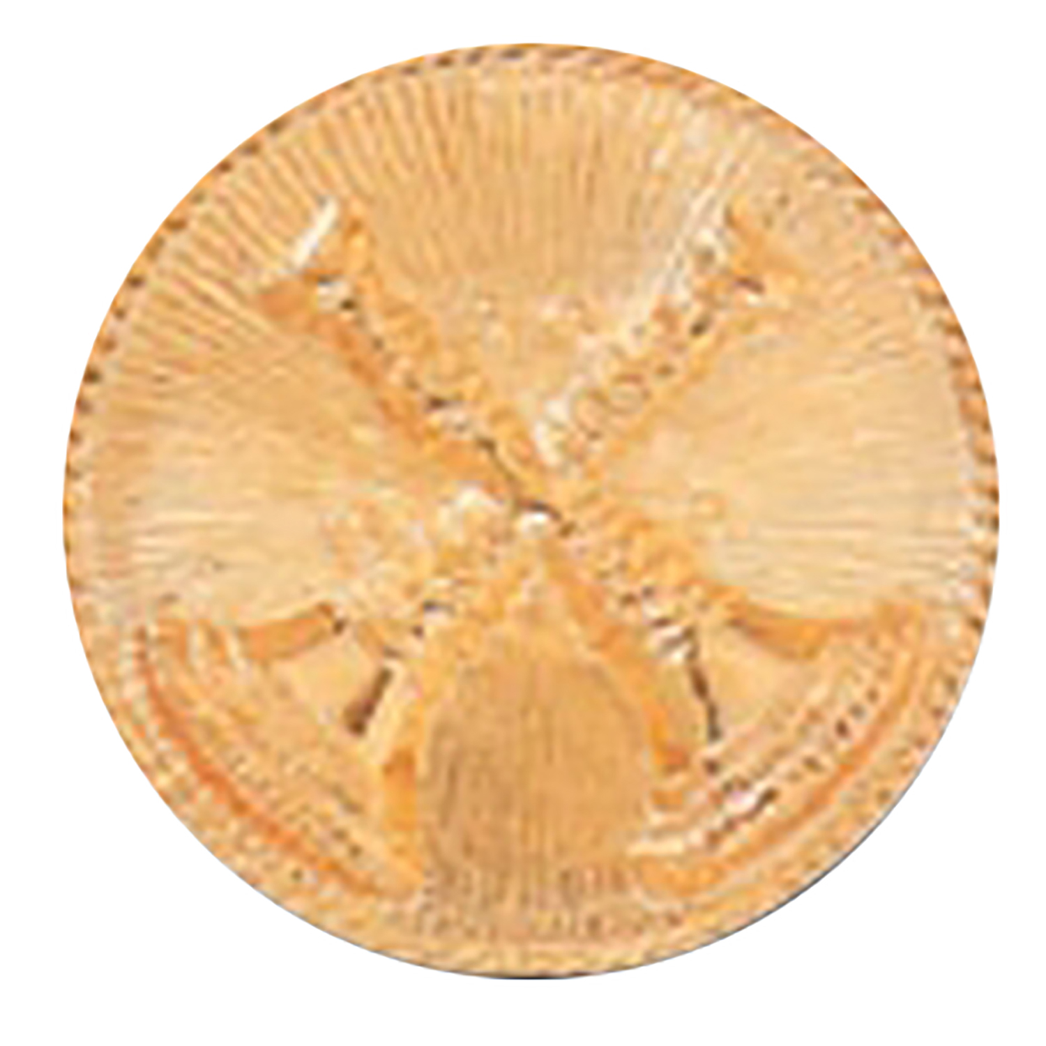 Premier Emblem 1.625 Inch Raised 2 Crossed Bugles on Disc