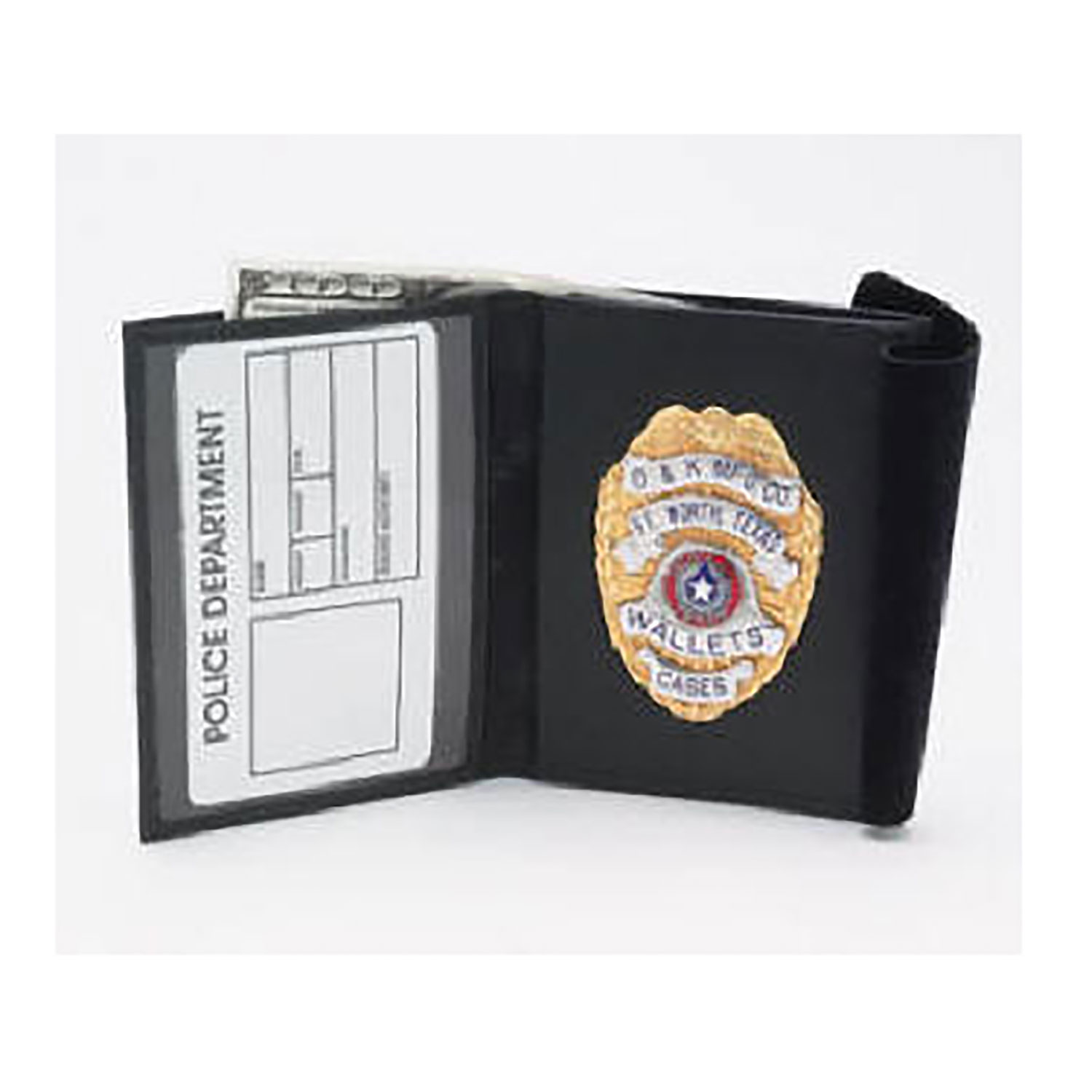 D&K Traditional Bi-fold Badge and ID Wallet