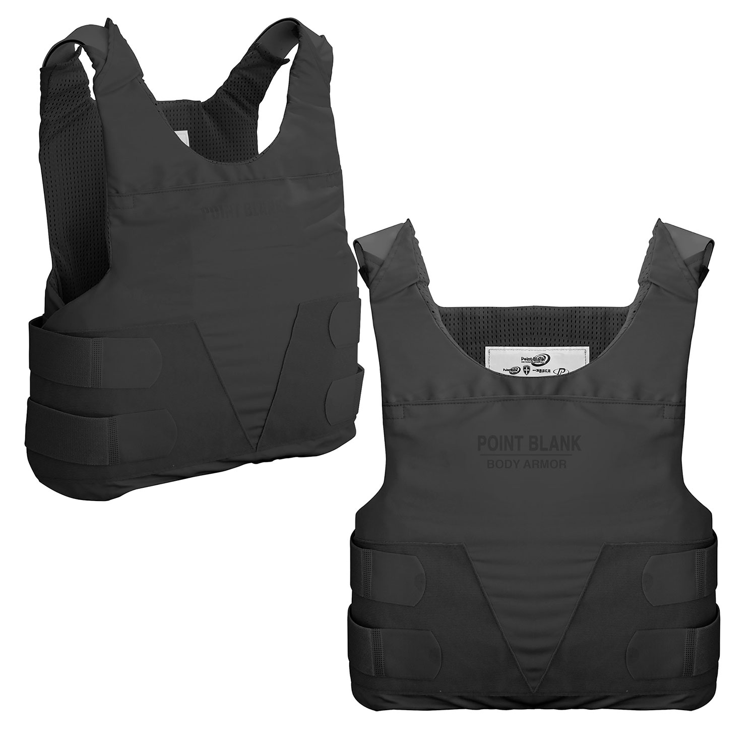 Point Blank FLXIIIA Body Armor with Two Hi Lite Carriers