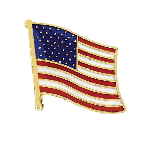 Blackinton American Flag Patriotic Lapel Pin