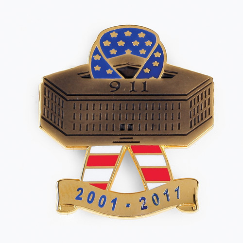 Blackinton Pentagon 10 Year Remembrance Lapel Pin