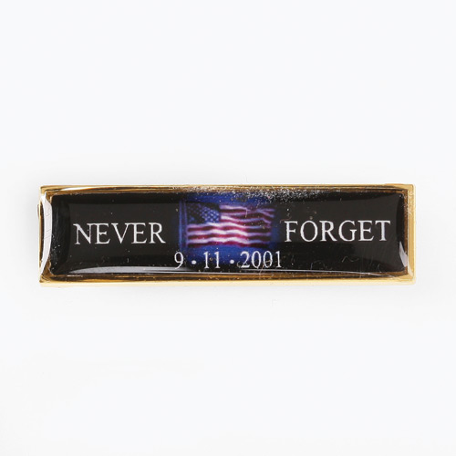 Blackinton 9-11 Commendation Blk Flag Never Forget