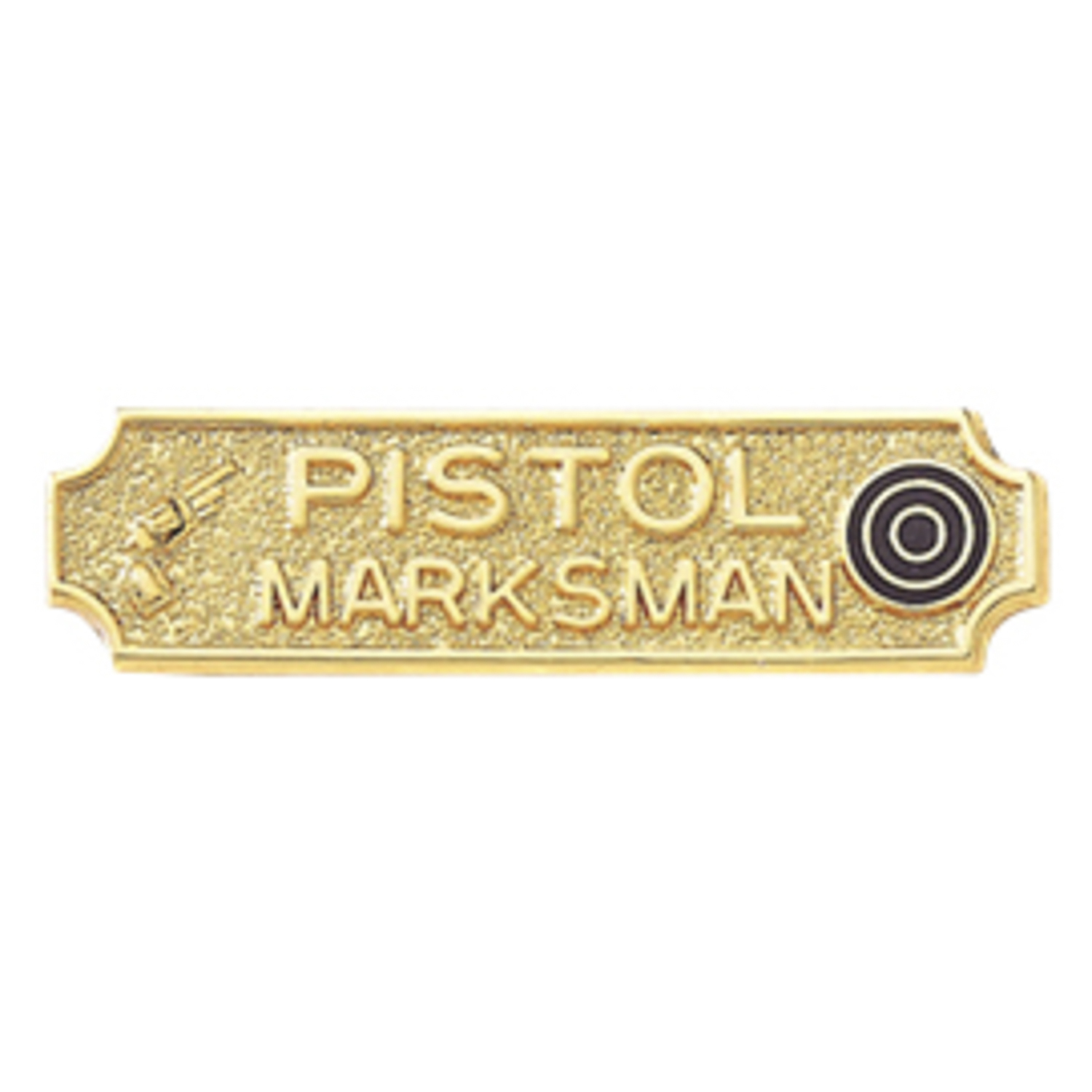 Blackinton Pistol Marksmanship Bar