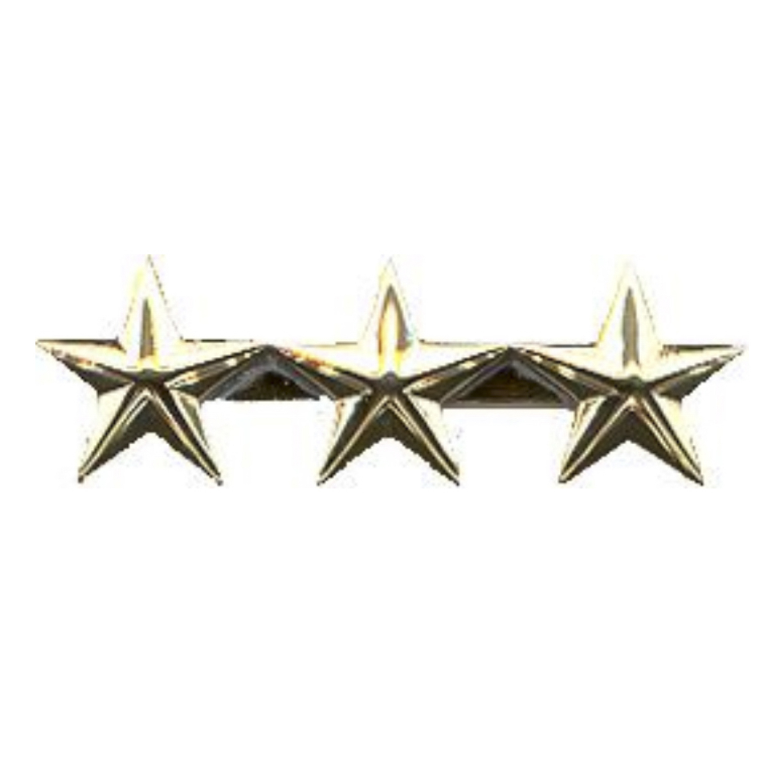 Eiseman-Ludmar Collar Stars with Smooth Finish