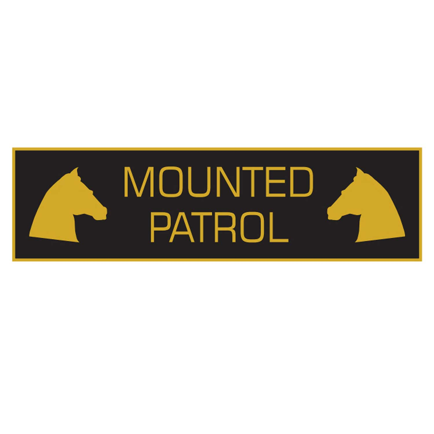 Davis and Stanton Mounted Patrol