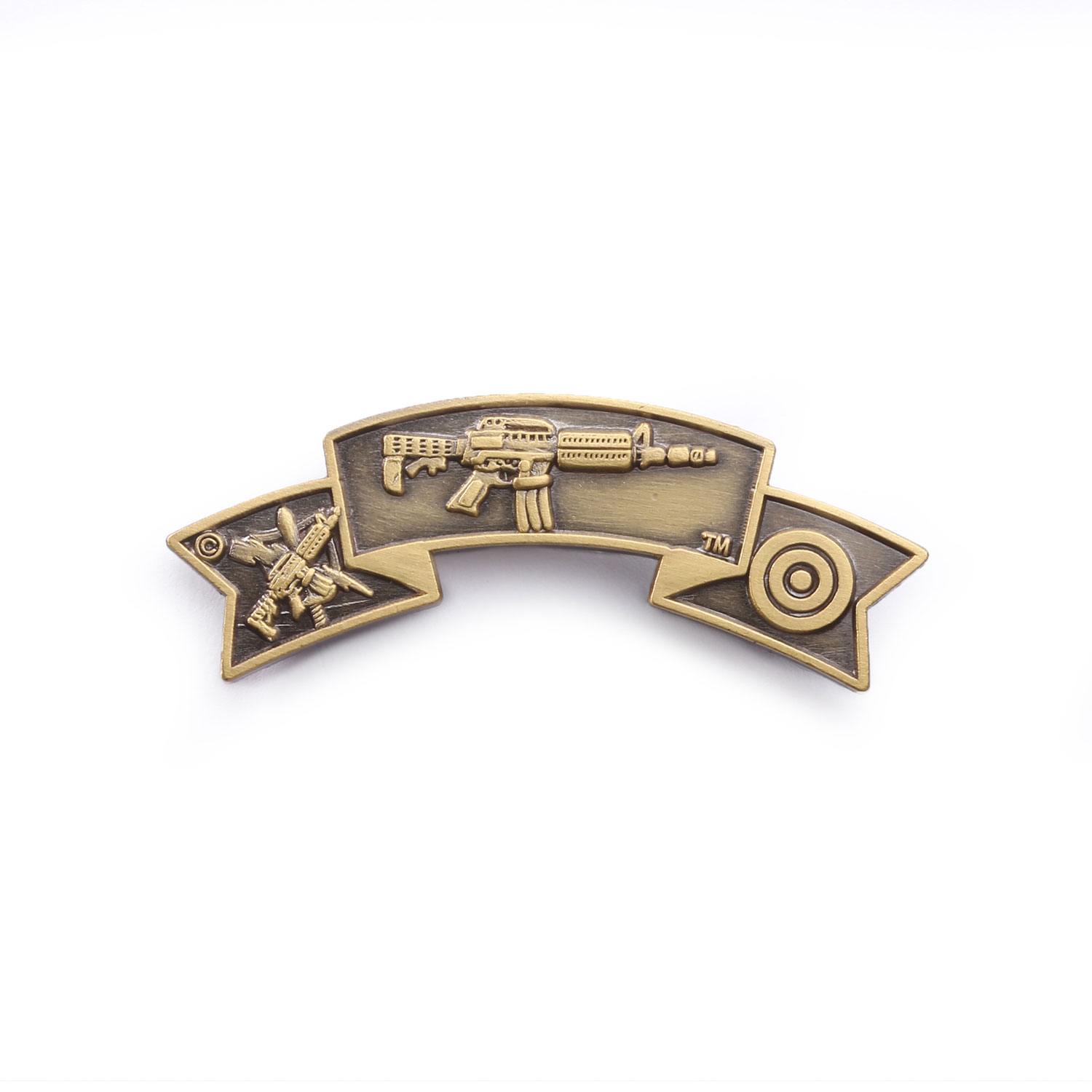 Hero's Pride Center Mass Patrol Rifle Qualification Tab