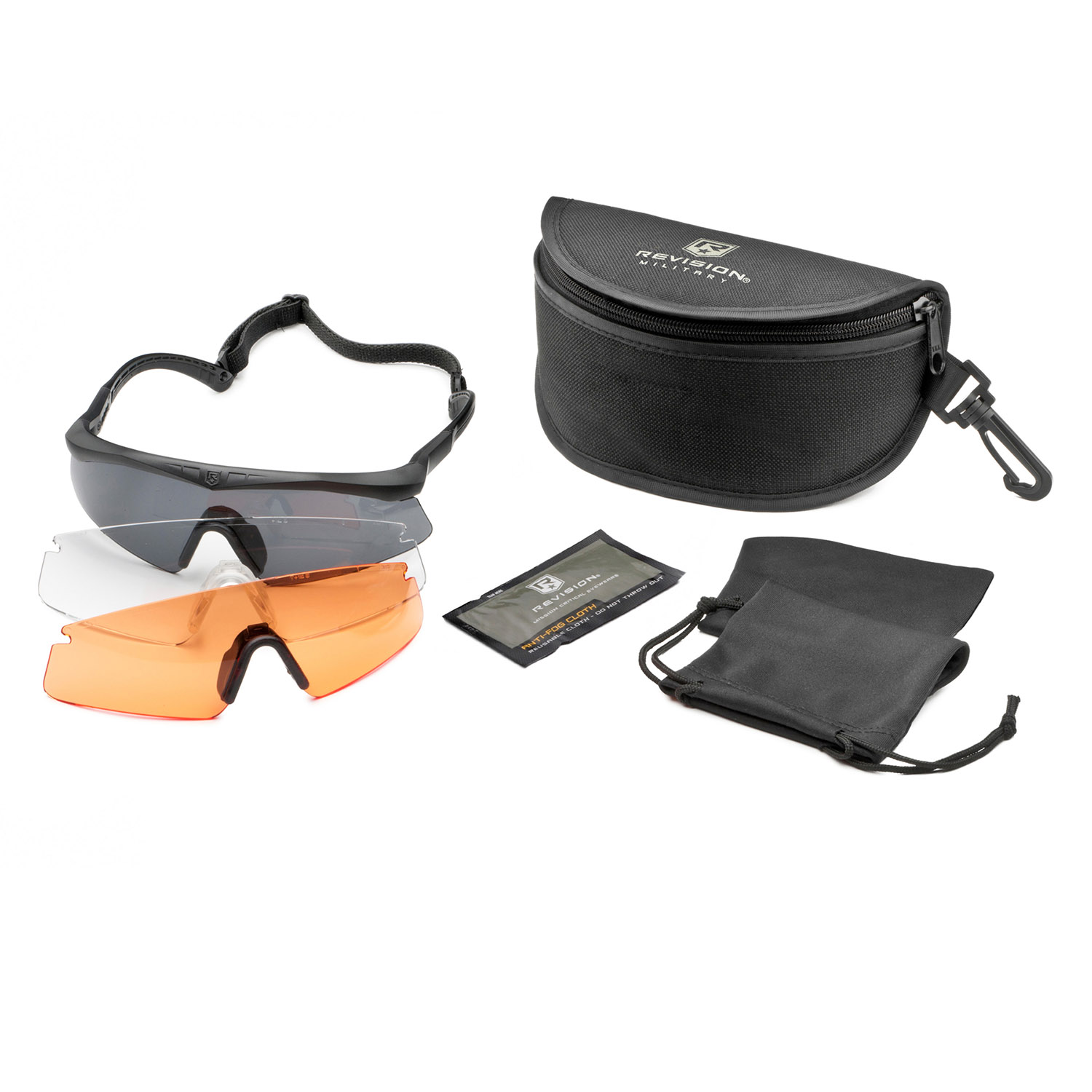 Revision Eyewear Sawfly Shooter's Kit (Regular)