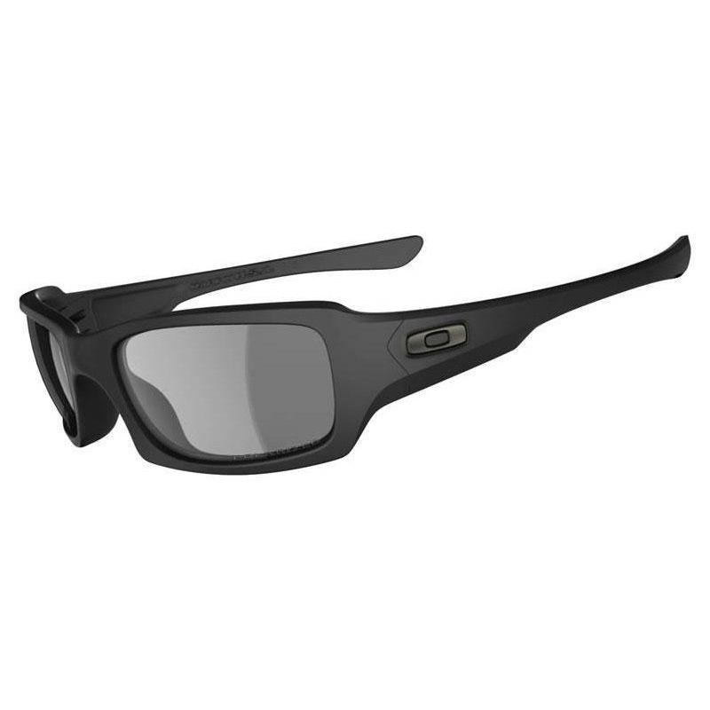 b5c33a935d Oakley SI Fives Squared Matte Black Grey Polarized