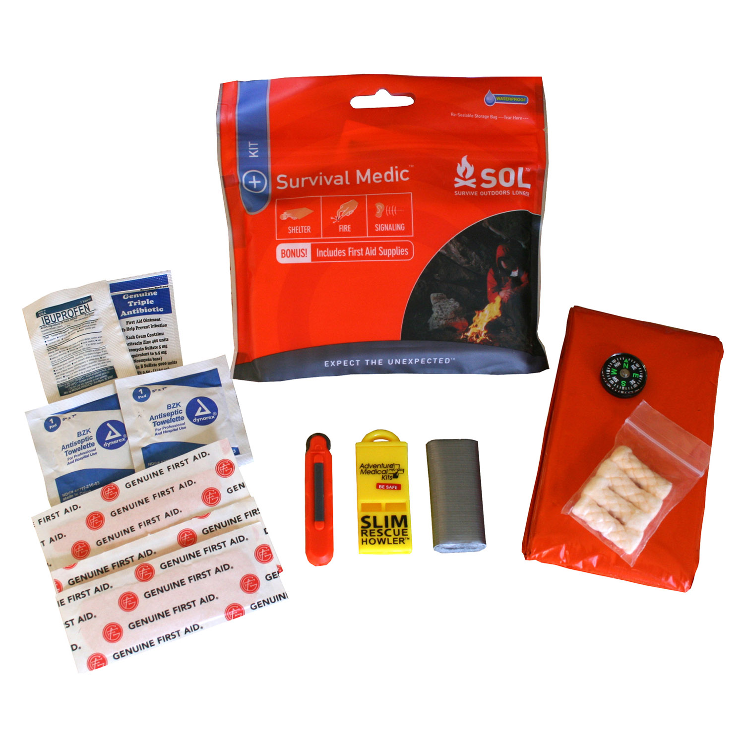 Adventure Medical Survive Outdoors Longer Survival Medic Kit