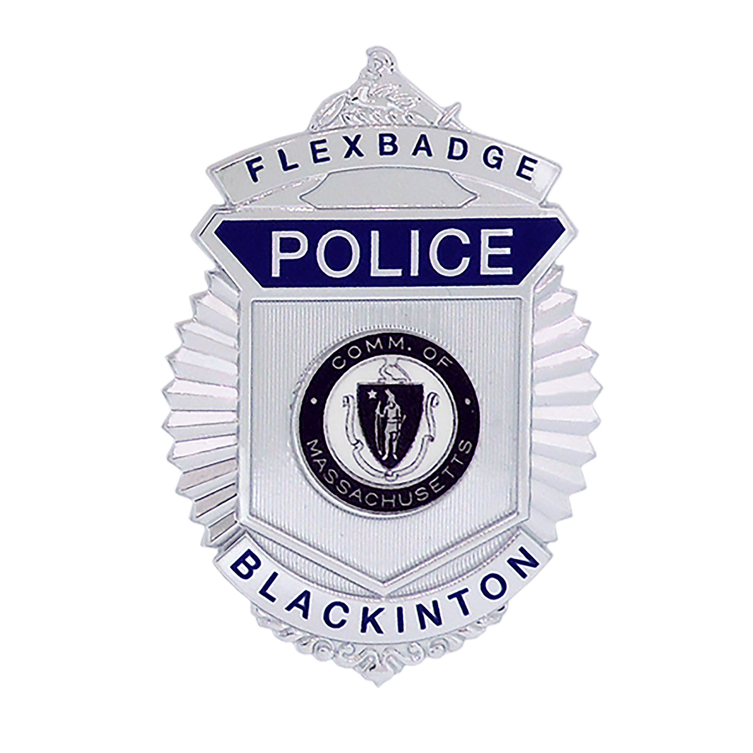 Blackinton FlexBadge FLX587 Shield
