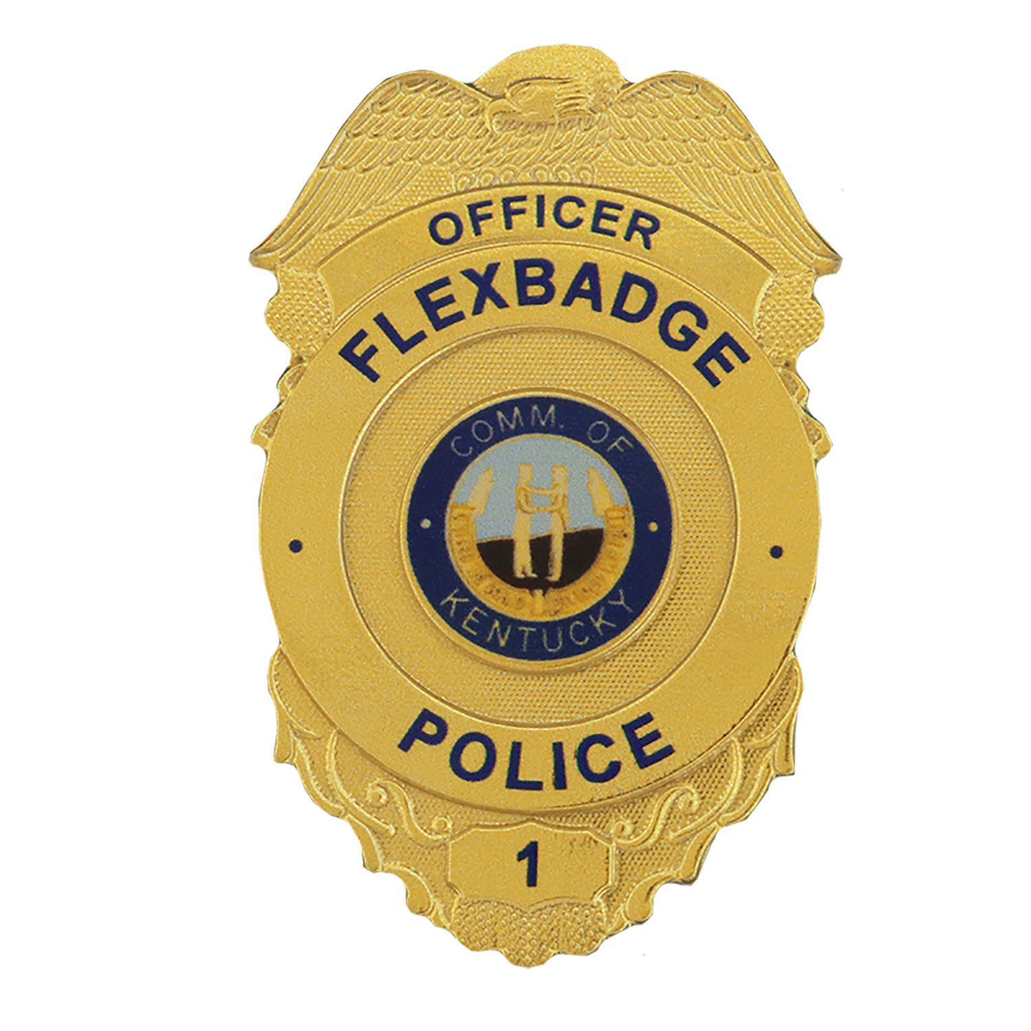 Blackinton FlexBadge FLX538 Shield