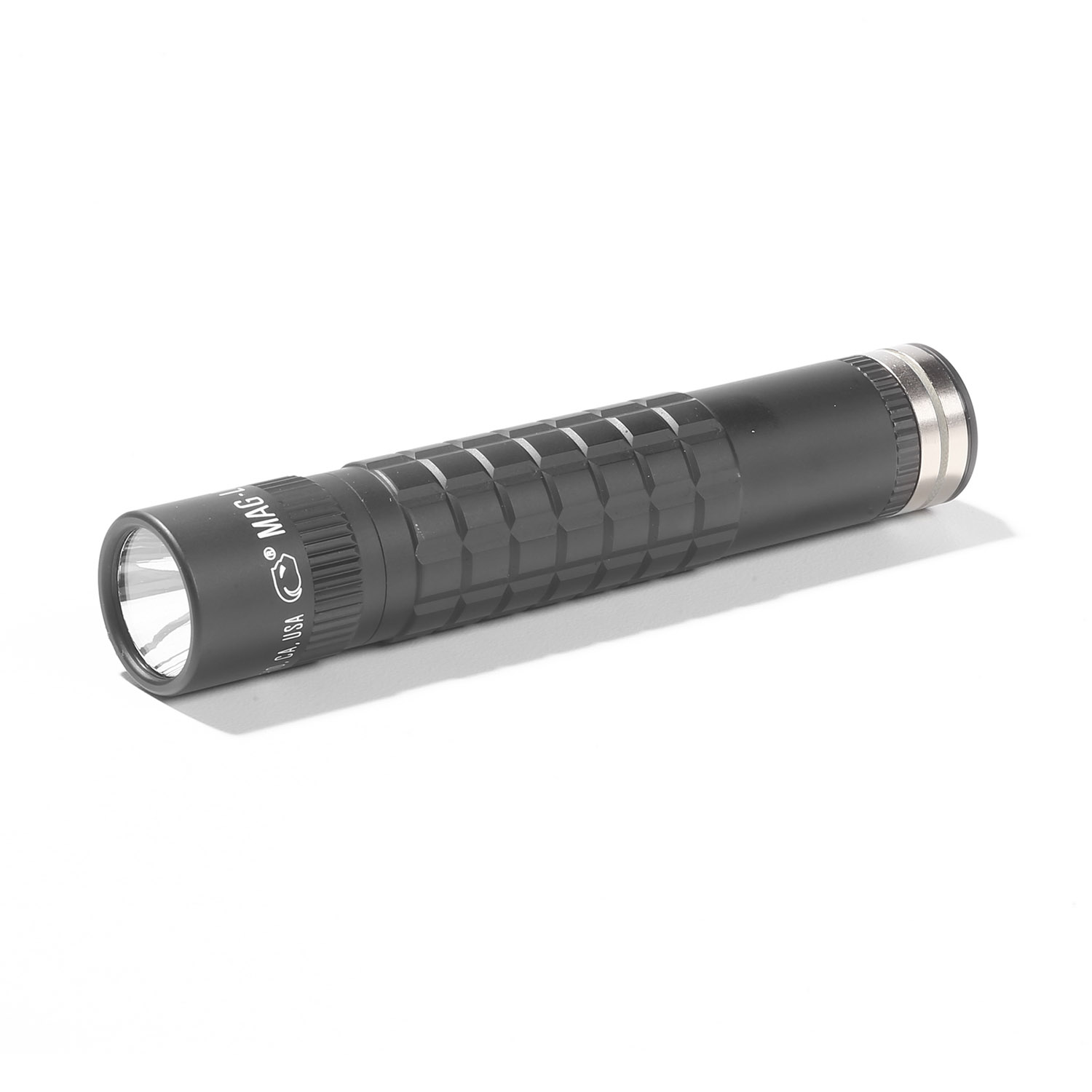 MagLite MagTac LED Rechargeable Flashlight with Plain Bezel