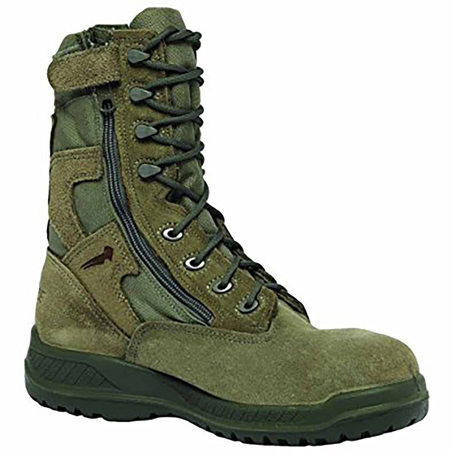8e98e4066d4 Belleville Hot Weather USAF Side Zip Steel Toe Tactical Boot.