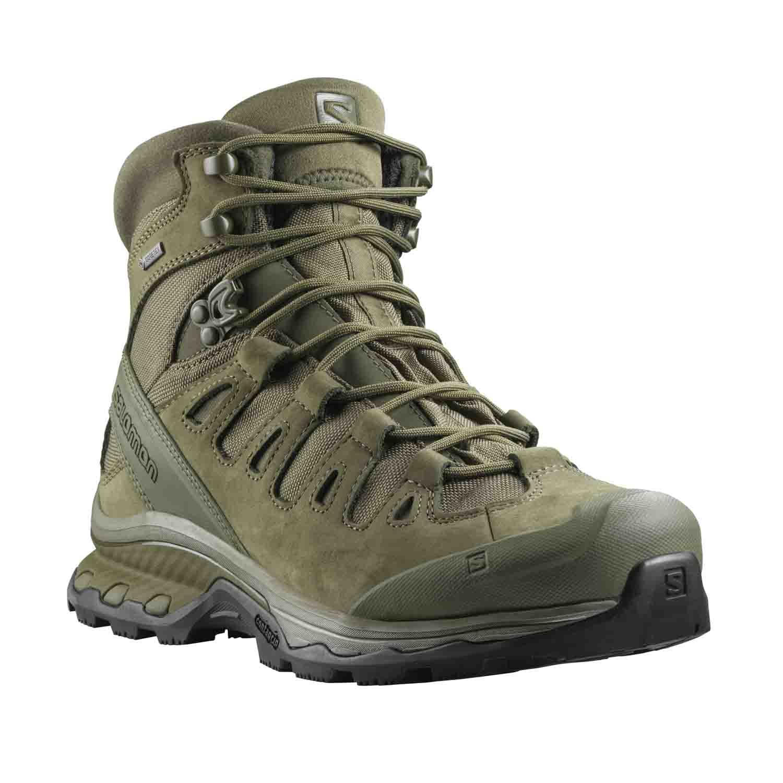 bd0b6382f56 Salomon Quest 4D GTX Forces 2 Waterproof Tactical Boot, Ranger Green.