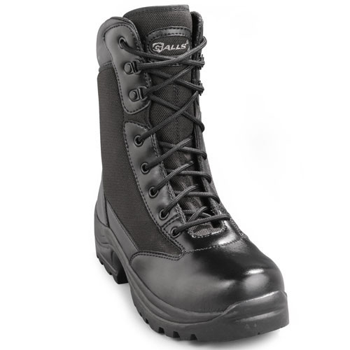 "Galls 8"" Zipper Steel Toe Boot"