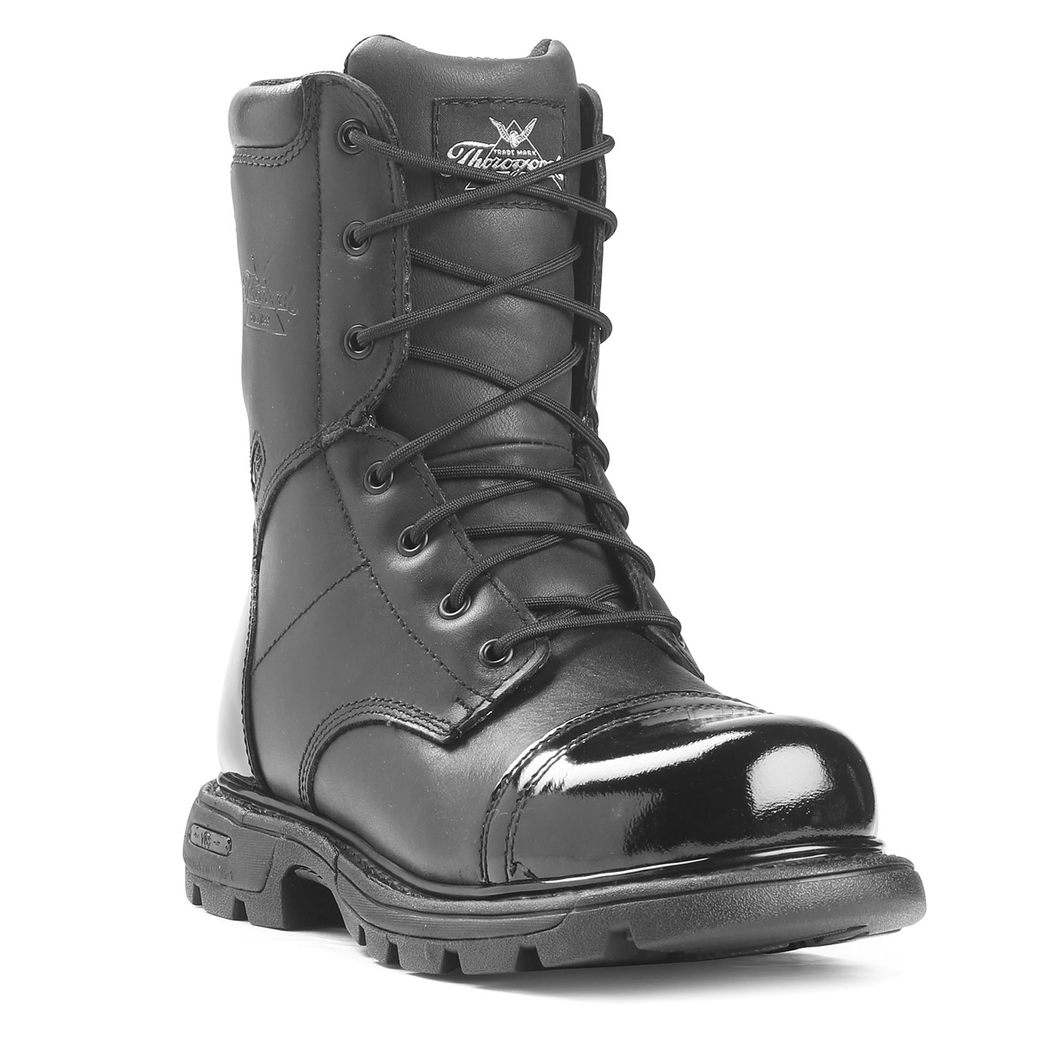 Thorogood 8 Quot All Leather Side Zip Jump Boot