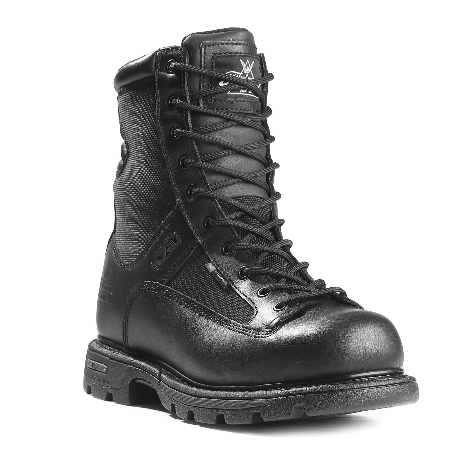 "Thorogood Trooper 8"" Side Zip Waterproof Boot"