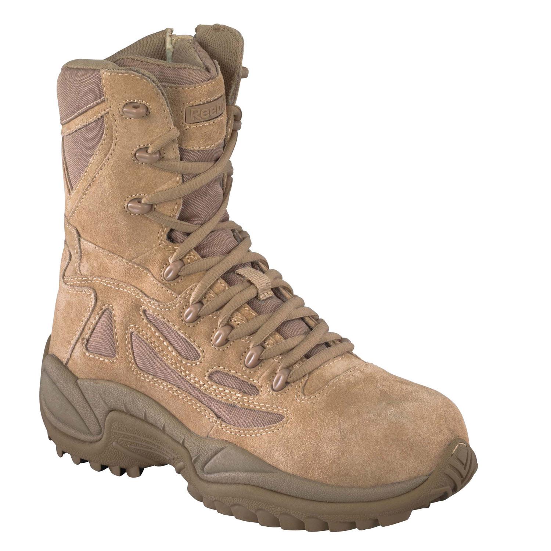 Reebok 8 Quot Desert Side Zip Boot