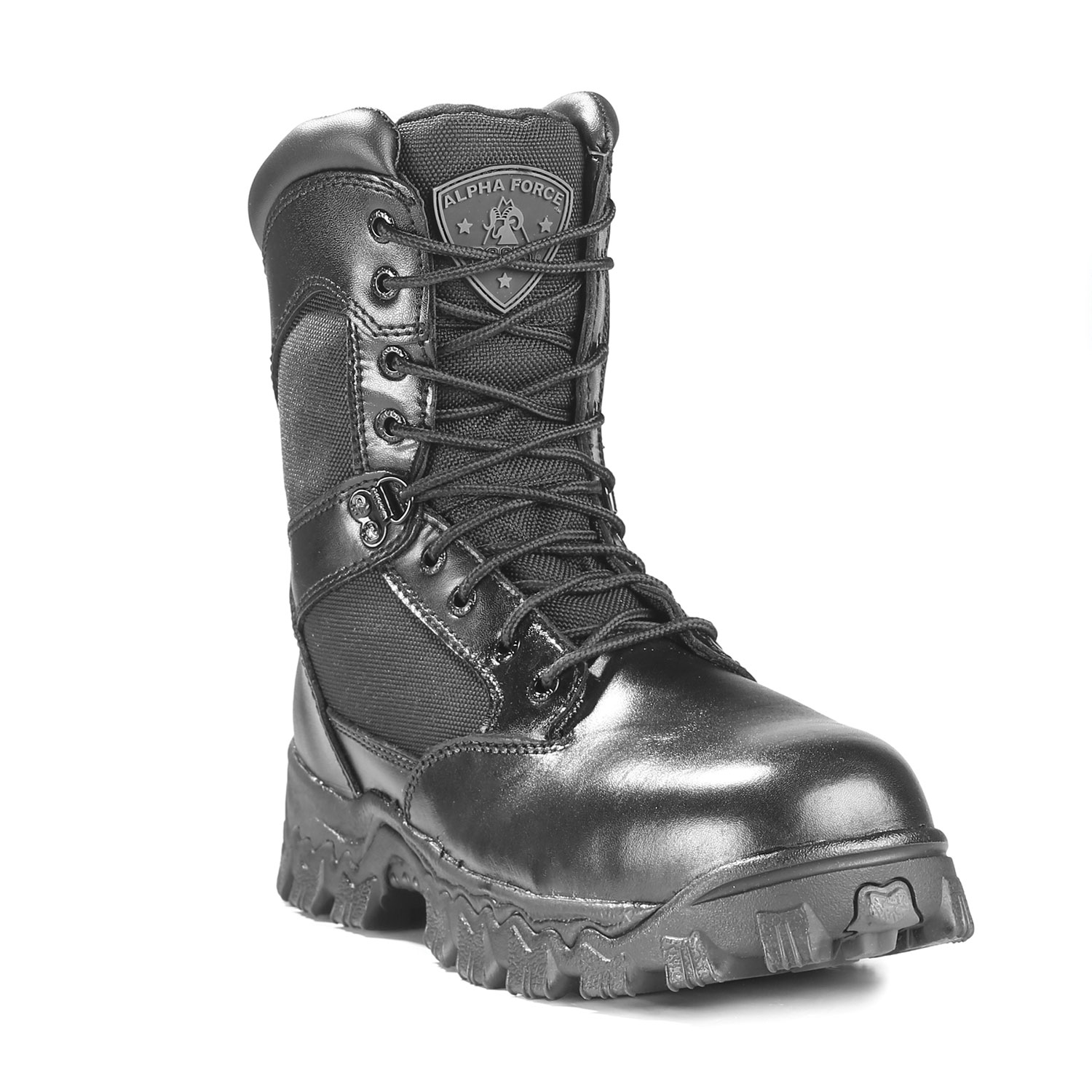 "Rocky 8"" AlphaForce Side Zip Composite Toe Waterproof Boot"