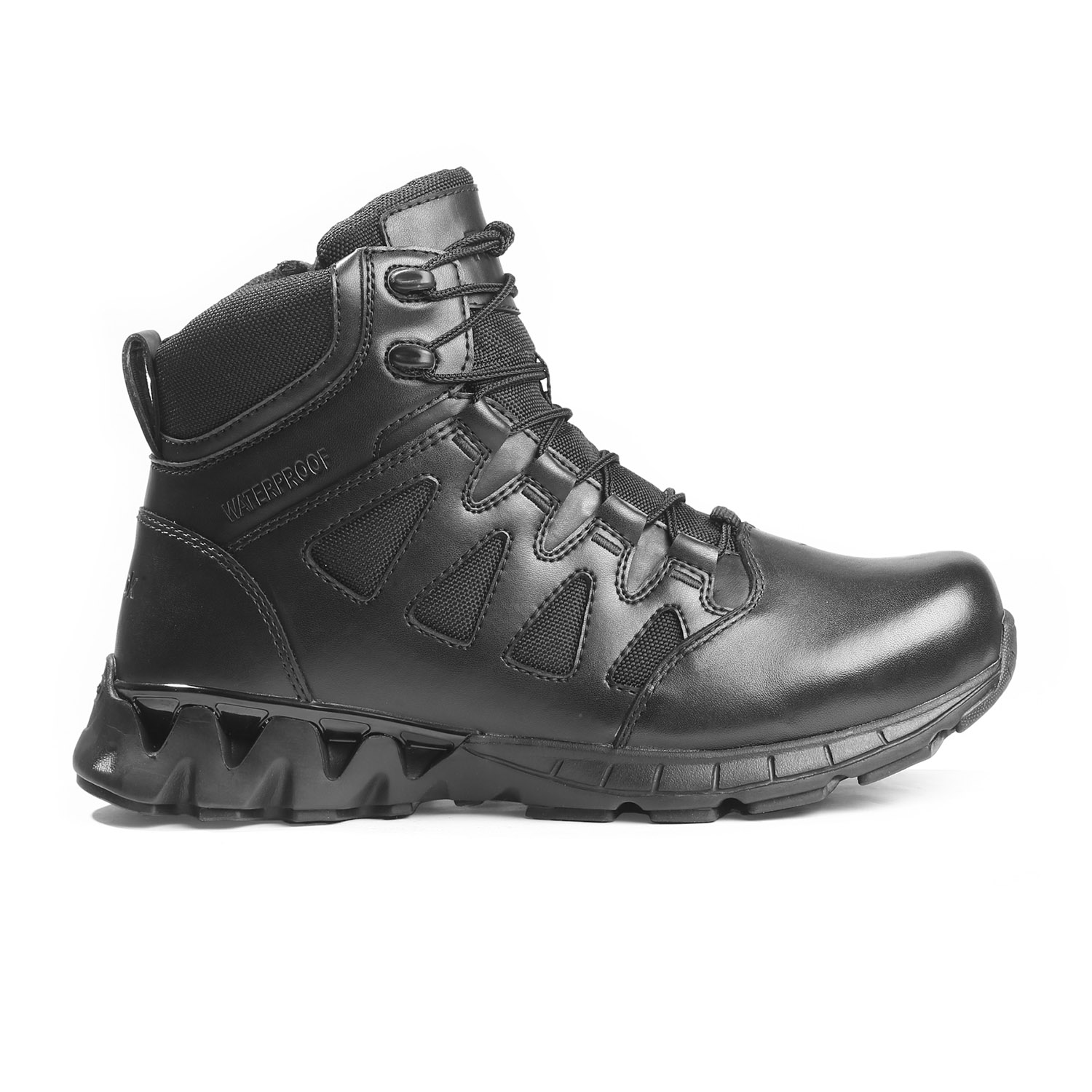 "Reebok Women's 6"" Zigkick Tactical Side Zip Waterproof"