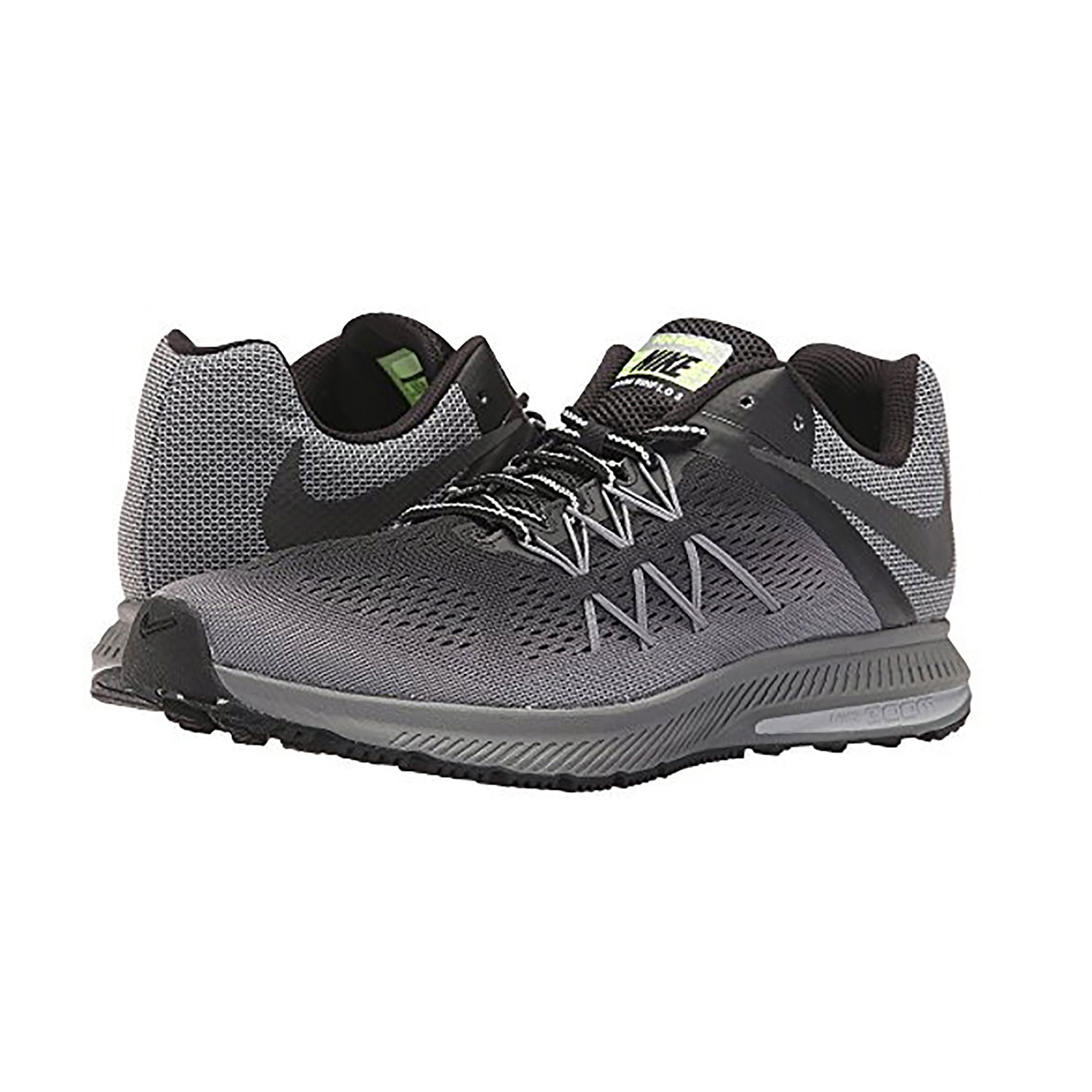 ead45786d96e ... usa nike black black cool grey air zoom winflo 3 mens running sh cd945  dad2f