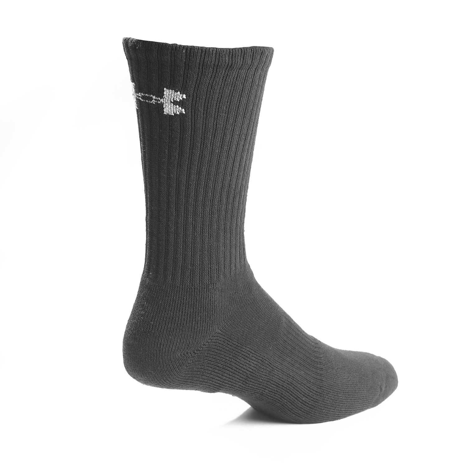 2493aded932 Under Armour Charged Cotton 2.0 Crew Sock 6 Pack