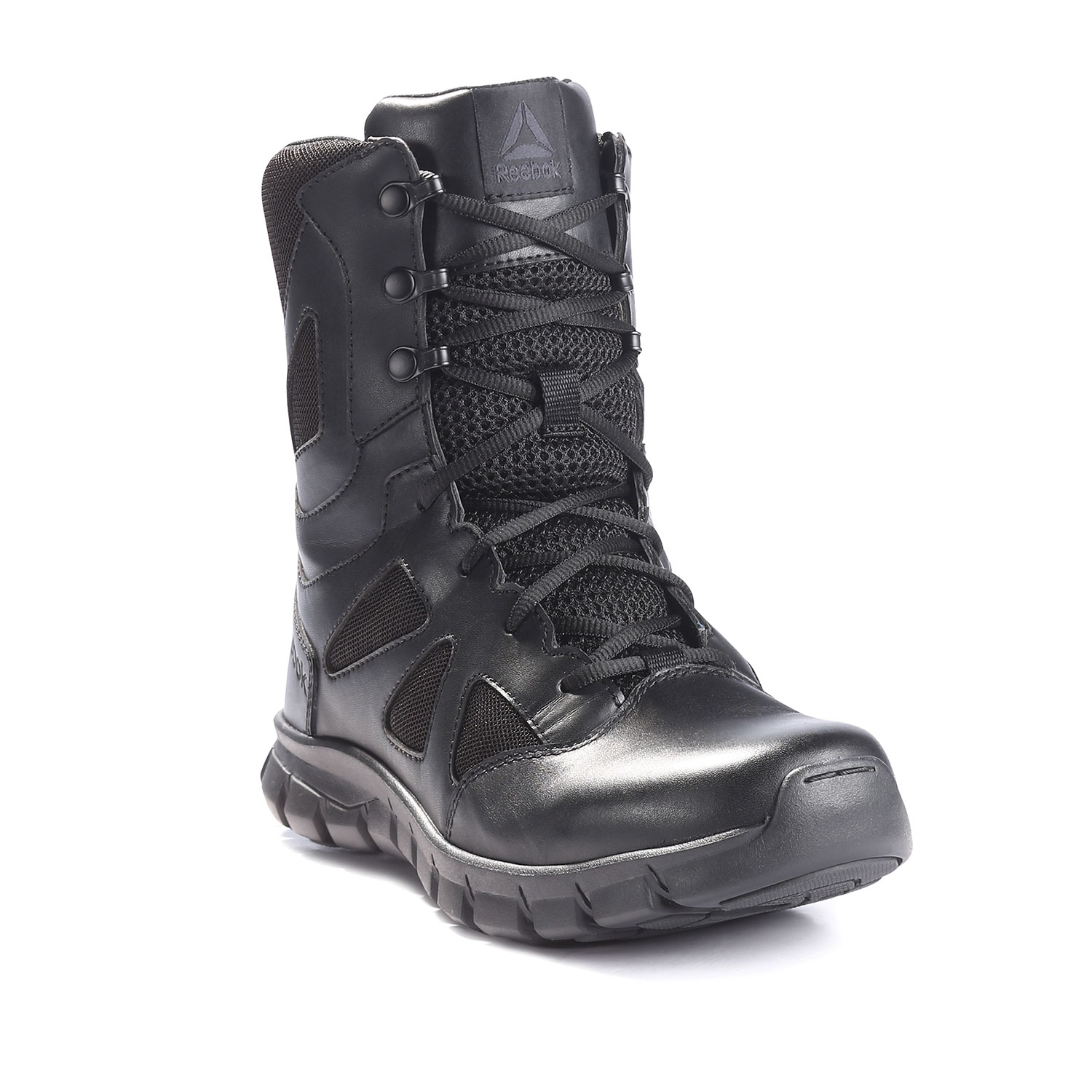 "Reebok 8"" Sublite Cushion Tactical Side Zip Boot"