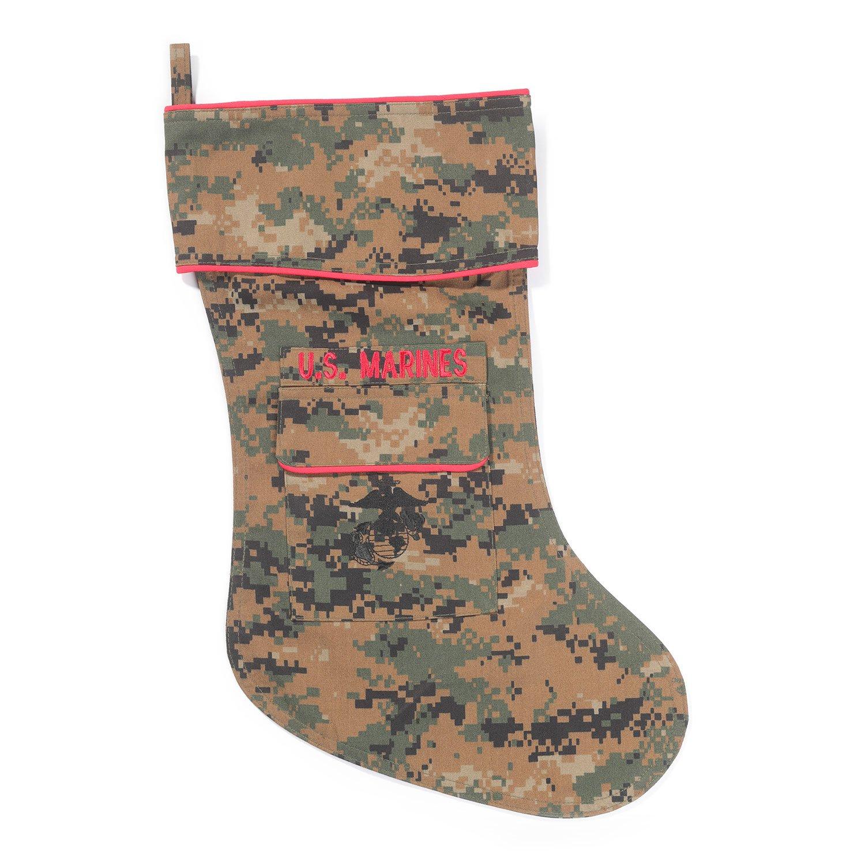 terk design camo sock marines christmas stocking - Camo Christmas Stocking