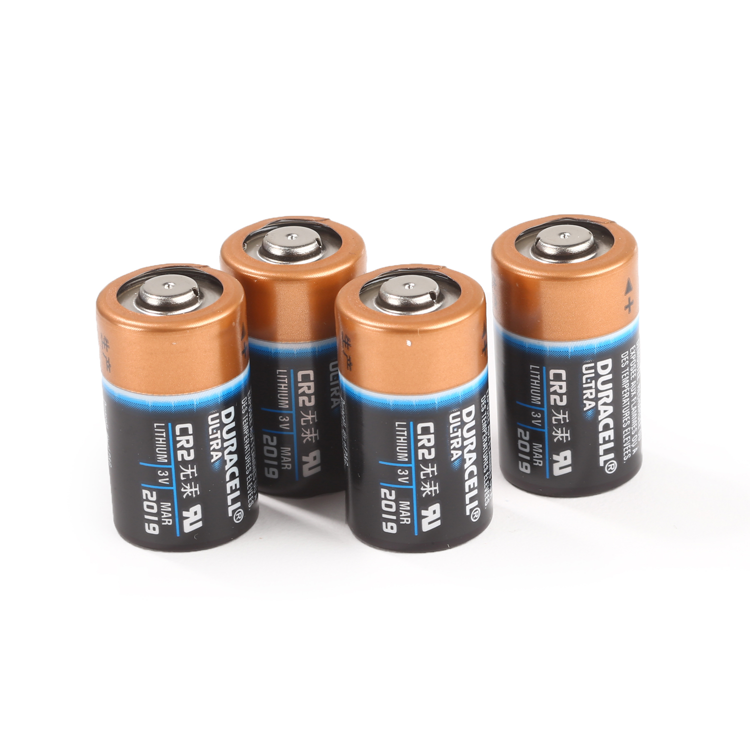 Duracell Ultra Lithium 3V CR2 Batteries 4-Pack