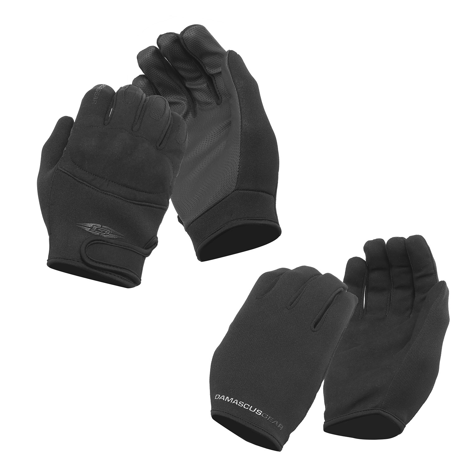 Damascus Tactical Gloves Combo Pack