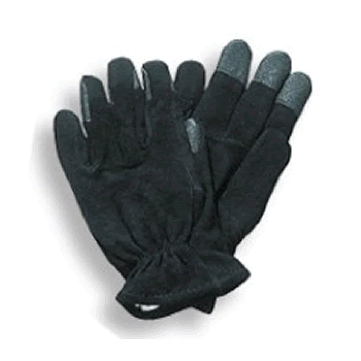 Black Leather Super Grip Gloves for Letter Carriers and Moto