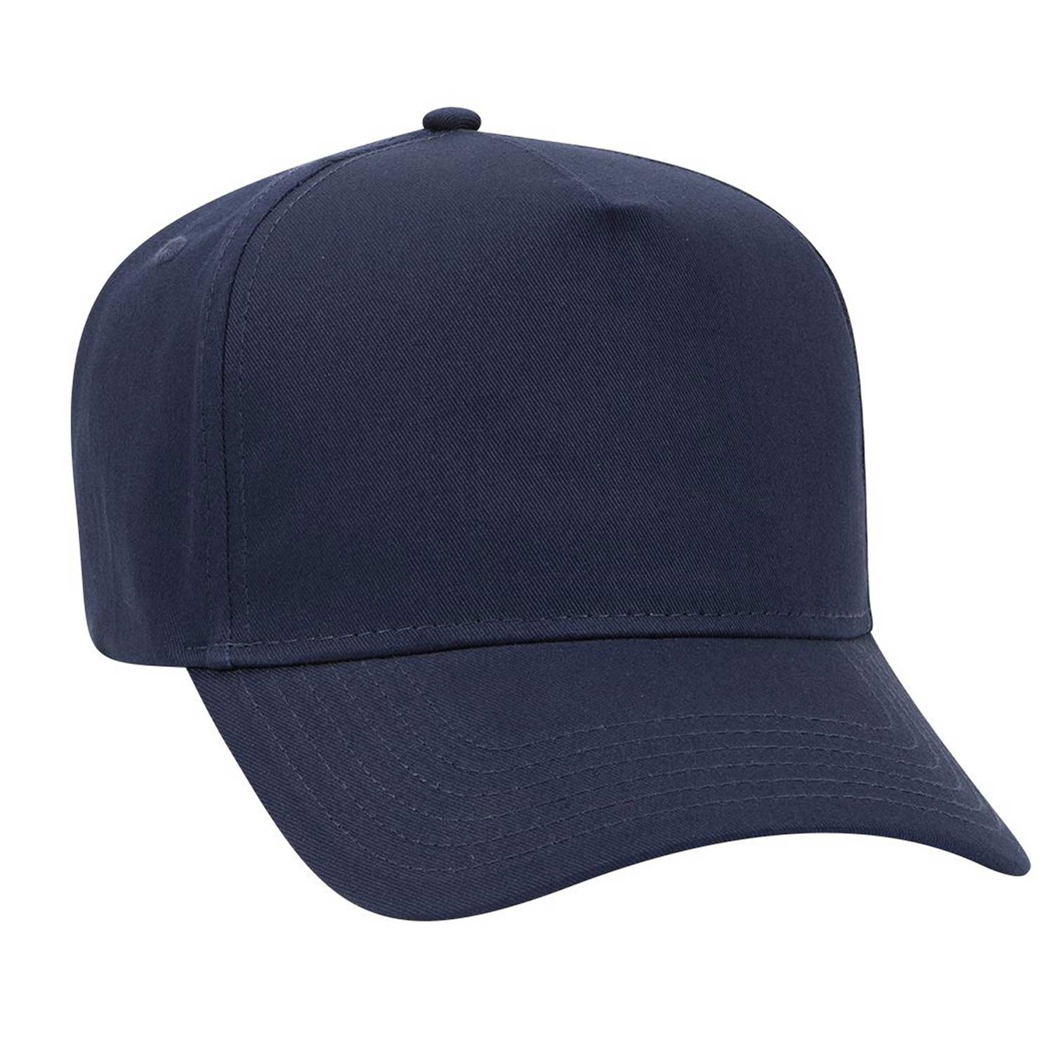 Otto 5 Panel Pro Cotton Twill Cap