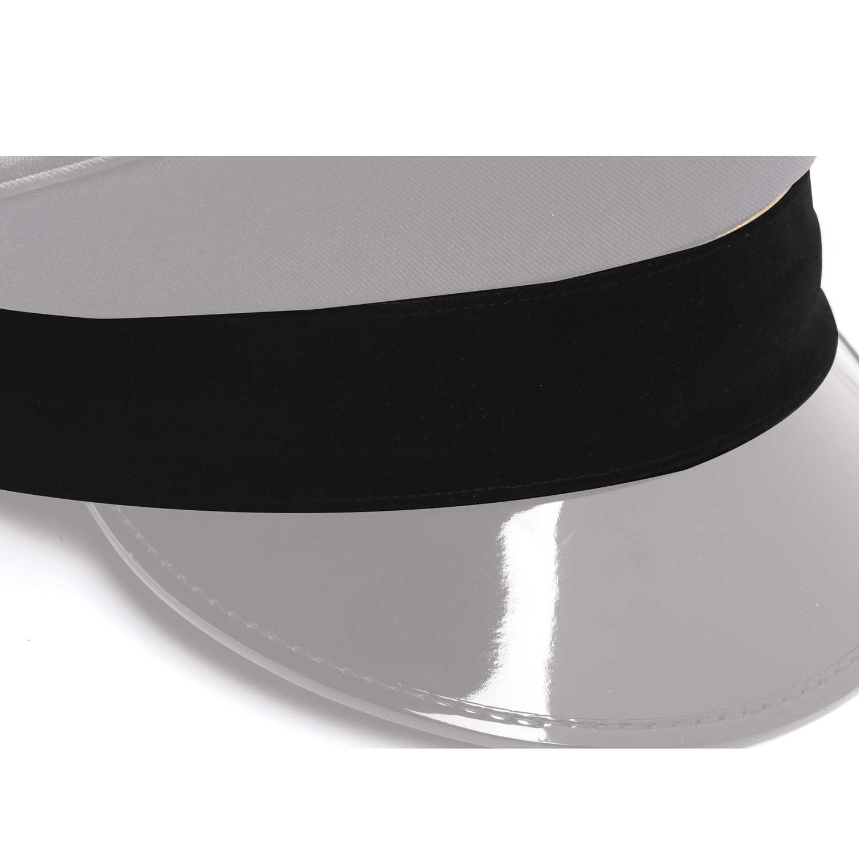 19a997df Keystone Uniform Detachable Velvet Hat Band
