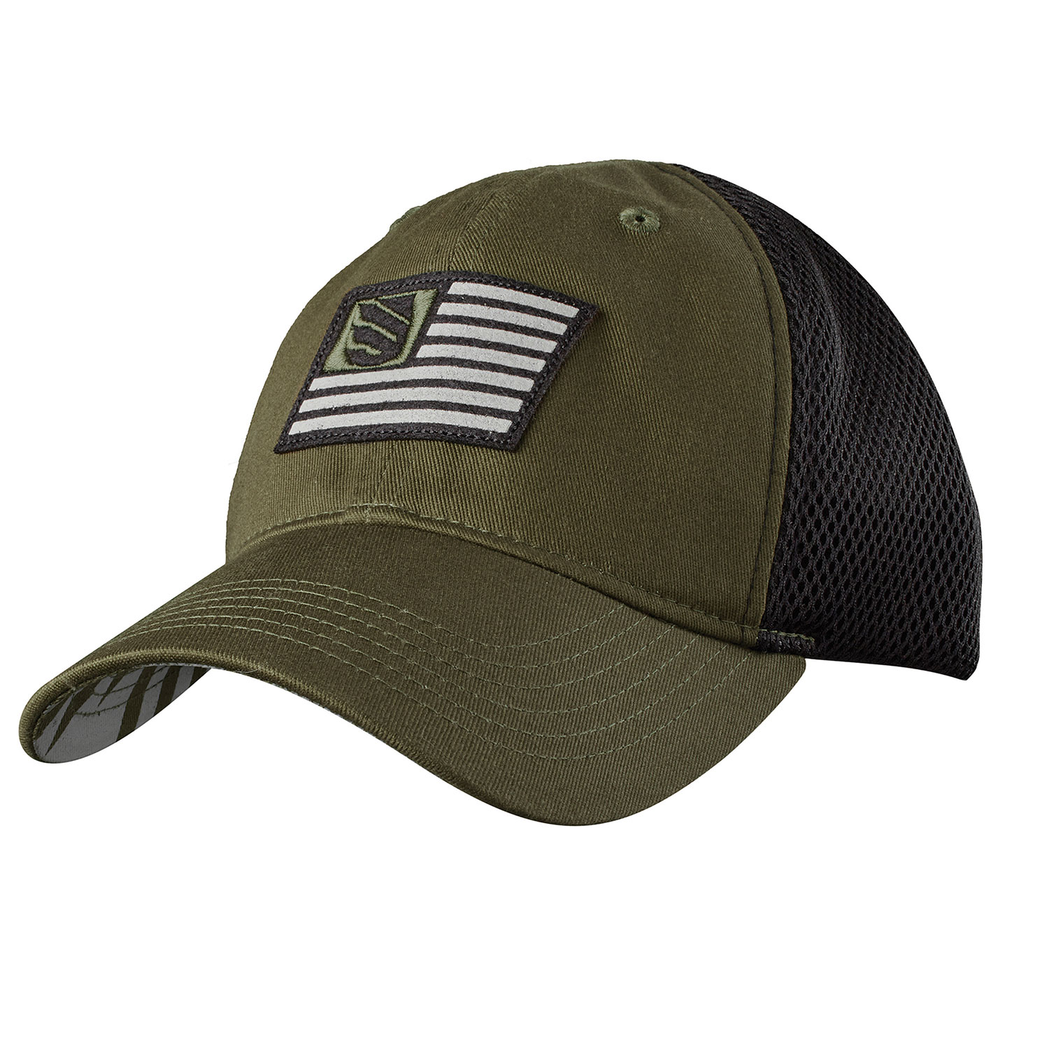 BLACKHAWK! Foam Mesh Back Fitted Cap