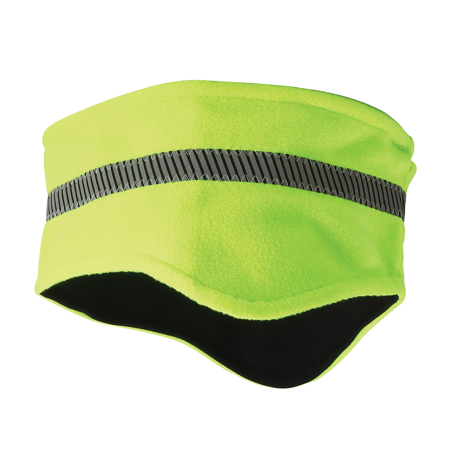 Galls Hi-Viz Reflective Fleece Stretch Headband