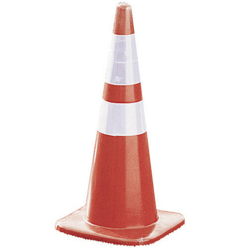 "Cortina Tool and Mold 28"" Reflective Traffic Cone (5Per"