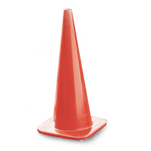 "Cortina Tool and Mold 36"" Non Reflective Traffic Cones"