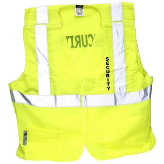 Radians Economy Class 2 Breakaway Solid Safety Vest