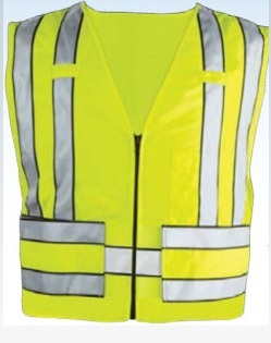 Premier Emblem Zip Front 5 Point Breakaway Safety Vest