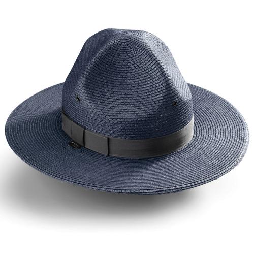 2eb452a9f30 Galls Straw Triple Brim Campaign Hat