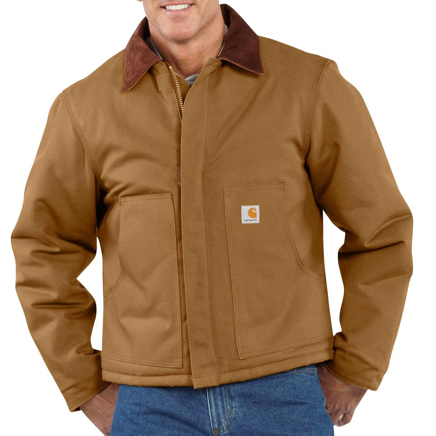 Carhartt Duck Traditional Artic Quilt Lined Jacket